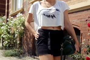 Outfit: s/w Croptop