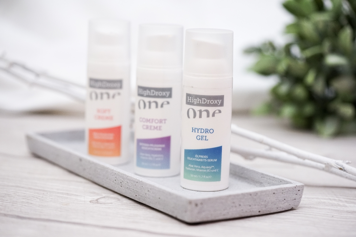 Highdroxy One - Hydro Gel, Soft Creme, Comfort Creme | Skincare, Beauty, Anti-Aging | Glasschuh.com Blog aus Hannover von Lea Christin